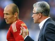 Heynckes' Robben-Hymne: Auf einer Stufe mit Cruyff