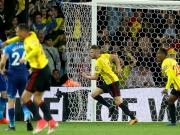 Cleverley im Nachschuss: Watford bezwingt Arsenal