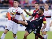 Videobeweis in Cagliari macht das Spiel nochmal spannend
