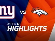 New York Giants vs. Denver Broncos