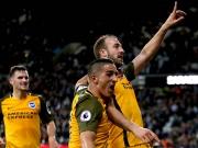 Murray schießt Brighton zum Sieg gegen die Hammers