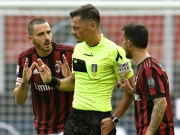 Milans Bonucci fliegt nach Ellbogen-Check