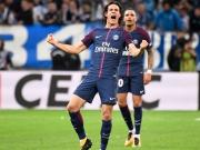 Vier Tore, Neymars Platzverweis - Cavani rettet PSG