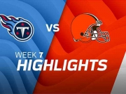 Tennessee Titans vs. Cleveland Browns