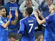 Slimani und Mahrez bringen Leicester in die Spur