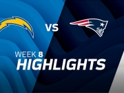 Los Angeles Chargers vs. New England Patriots