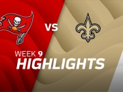 Tampa Bay Buccaneers vs. New Orleans Saints