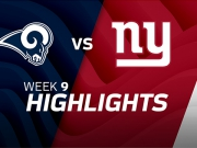 Los Angeles Rams vs. New York Giants