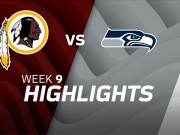 Washington Redskins vs. Seattle Seahawks
