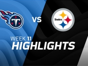 Tennessee Titans vs. Pittsburgh Steelers