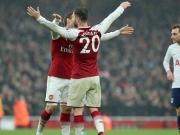 Özil und Mustafi leiten Arsenals Derbysieg ein