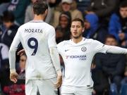 Chelsea schießt West Brom in Hälfte eins ab