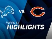 Detroit Lions vs. Chicago Bears