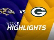 Baltimore Ravens vs. Green Bay Packers
