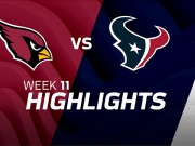 Arizona Cardinals vs. Houston Texans