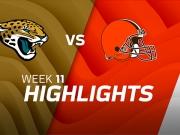 Jacksonville Jaguars vs. Cleveland Browns