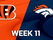Cincinnati Bengals vs. Denver Broncos