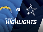 Los Angeles Chargers vs. Dallas Cowboys