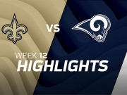 New Orleans Saints vs. Los Angeles Rams