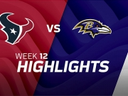 Houston Texans vs. Baltimore Ravens