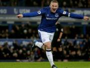 Tor des Jahres? Rooneys Direktabnahme aus der eigenen Hälfte!