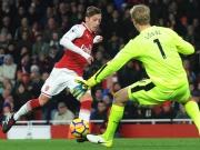 Magischer Özil: Vier Minuten, zwei Assists, ein Tor