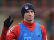Wieder zurück: Müller im Angriffsmodus