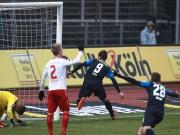 Zwickau bestraft Köln - Eisele köpft in letzter Minute den Ausgleich