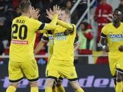 Janktos Doppelpack bringt Udine auf Kurs