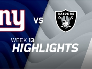 New York Giants vs. Oakland Raiders