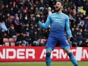 Flanke Sanchez, Kopfball Giroud - Arsenal im Glück