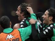 90.: Joker Matri schießt Sassuolo zum Sieg bei Samp