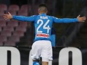 Ganz trocken: Joker Insigne führt Napoli ins Viertelfinale