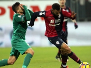 Nach Videobeweis: Cagliaris Joao Pedro sieht Rot