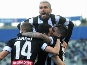Udine erst im Pech, dann von der Leine gelassen