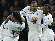 Swanseas Wahnsinns-Finish: Zwei Tore in vier Minuten!