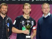 Arne Maier - Ehrung des besten Spielers des JuniorCups