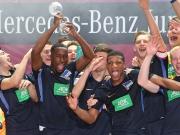 Hertha BSC triumphiert beim JuniorCup