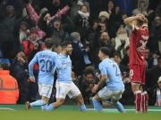 Später Jubel: Aguero rettet ManCitys Sieg gegen Bristol