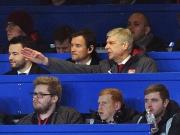 Kein Spektakel für Wenger und Lehmann auf der Tribüne