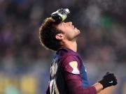 Neymars kurioser Schuh-Jubel bei PSG-Sieg
