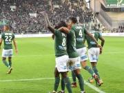 Rekordmeister St. Etienne jubelt im Abstiegsduell
