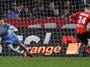 Später Elfmeter sichert Rennes drei Punkte