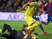 Zwei Elfer, vier Alu-Treffer bei Villarreals Sieg