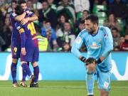 Langer Anlauf: Messi & Co. demontieren Betis spät