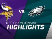 Favorisierte Vikings chancenlos gegen die Eagles