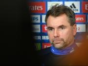 Kein Freund der großen Töne - HSV-Trainer Hollerbach