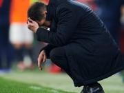 Simeone muss auf Tribüne - Pokal-Aus für Atletico