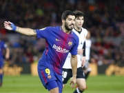 Suarez knackt Valencias Abwehrriegel