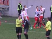 Dramatisches Finish im Elferkrimi - RWE im Halbfinale